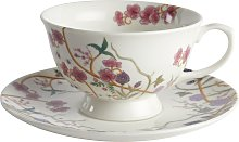 The Chateau By Angel Strawbridge Cup and Saucer Set