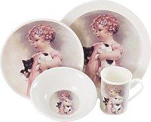 The CIJA Child's Play B Reinforced–Porcelain Tableware, White