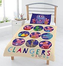 The Clangers Junior Duvet Set, Mulicolour