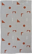 The Collaborative Store - Arco Natural Linen Throw