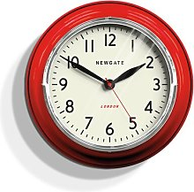 The Cookhouse 35cm Wall Clock Newgate Colour: Red