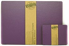 The Dapper House Set of 8 Elementary Purple