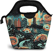 The End of The World Dark Urban War Lunch Bags