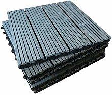 The Famous Click-Deck Composite Decking Tiles -