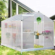 The Fellie Garden Greenhouse Polycarbonate Garden