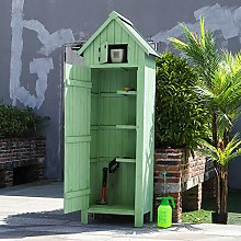 The Fellie Garden Tool Storage Shed Garden Wooden