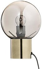 The Find Store - Gold And Glass Table Lamp