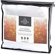 The Fine Bedding Company Wool Mattress Protector -