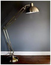 The Forest & Co. - Brushed Gold Floor Lamp