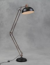 The Forest & Co. - Copper And Matt Black Floor Lamp