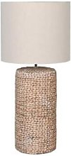 The Forest & Co. - Large Rope Effect Table Lamp -