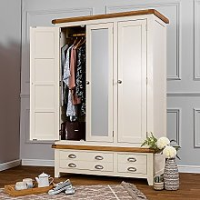 The Furniture Outlet Hampshire Ivory Painted Oak