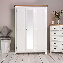 The Furniture Outlet Hampshire White Painted Oak