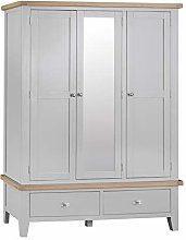 The Furniture Outlet Suffolk Grey Painted Oak