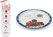 The Gastric Band Plate Increment Bottle Pink Dome