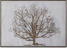 The Golden Oak - Framed Print, 62.5 x 92.5cm, Gold