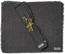 The Grey Works - Frayed Edge Linen Placemats