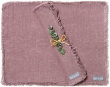 The Grey Works - Frayed Edge Linen Placemats In