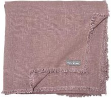 The Grey Works - Frayed Edge Linen Tablecloth Fig
