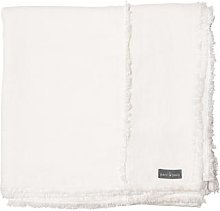 The Grey Works - Large Frayed Edge French Linen