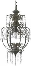The Grey Works - Liberty Vintage Style Chandelier