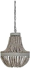 The Grey Works - Luna Small Beaded Chandelier In