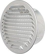 The gta125r-y Ventilation Grill Round Recessed,