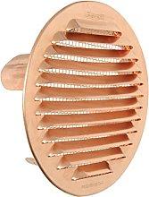The gtsr125r-y Ventilation Grill Round Recessed,
