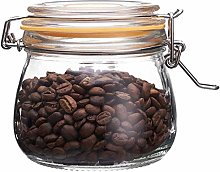 The Happy Jar Wish Jar - 500ml Clip Top Lids Glass