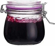 The Happy Jar Wish Jar - 500ml Clip Top Lids Glass