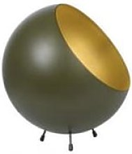 The Home Collection - Moss Green Bell Table Lamp XL