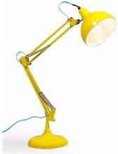 The Home Collection - Yellow Traditional Desk Lamp