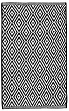 The Home Deco Factory HD5002 Rug, Cotton, Black