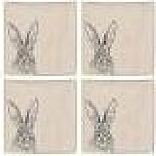 The Just Slate Company - Hare Linen Napkins - Set