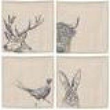 The Just Slate Company - Linen Napkins - Set of 4