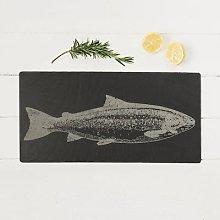 The Just Slate Company - Salmon Engraved Slate