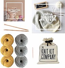 The Knit Kit Company India Baby Blanket |