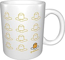The Lazy Egg Real Anime Ceramic Cup Coffee Mug