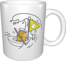 The Lazy Egg Sail Away Anime Ceramic Cup Coffee