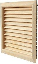 The lges160p-y Ventilation Grille Pine Wood Quadra