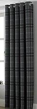 The Linenmouse Highland Check Tartan Grey SINGLE