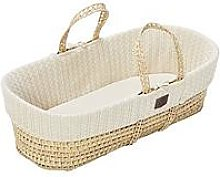 The Little Green Sheep Organic Knit Moses Basket
