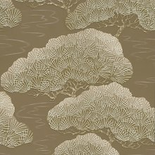 The Little Greene Paint Company Pines Wallpaper