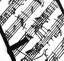The Music Gifts Company Manuscript White & Black