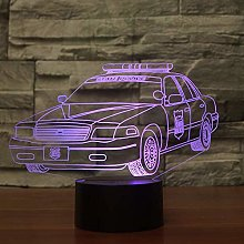 The Night Light Police car 3D The Light Next to