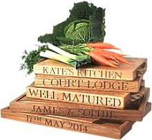 The Oak And Rope Company Personalised Carving Board