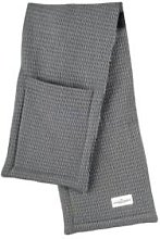 The Organic Company - Oven Gloves Evening Grey -