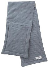 The Organic Company - Oven Gloves Grey Blue Stone