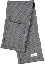 The Organic Company - Oven Gloves - Grey Blue Stone