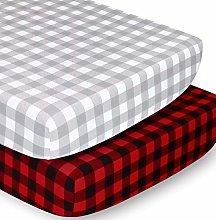 The Peanutshell Crib Sheet Set for Baby Boys or